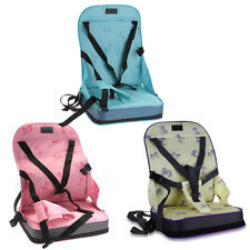 Portable Baby Toddler Infant Dining Chair Booster Seat Harness Wrap