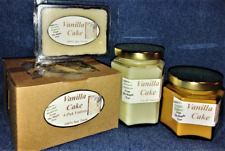 **NEW** Hand Poured Soy Candles, Tarts & 4-Pack Votives - Vanilla Cake Scent