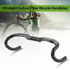 Full Carbon Fiber Bicycle Handlebar Road Bike Handle Bar Matte 40/42/44cm W2K2