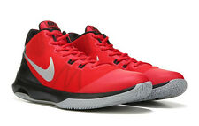 NIKE MENS AIR VERSATILE RED BLACK SILVER BASKETBALL SHOES 2017 **FREE POST AUST
