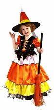 Candy Corn Witch Costume Halloween Princess Girls Dress New in Package