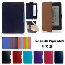 Smart Magnetic Automatic Wake Leather Case Cover For Amazon Kindle Paperwhite
