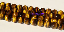 AAA Natural Yellow Tiger Eye Round Loose Beads 4-16mm Discount for Wholesale
