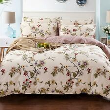 Flowers Doona/Quilt/Duvet Cover Pillow Cases Set Double/Queen/King Bed New A1019