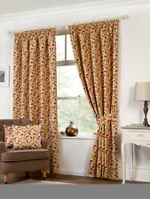 Kliving Chartwell Floral Tapestry Ready Made Fully Lined Tape Top Curtains