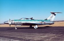 USAF XF-84H  Thunderscreech Color Photo Military Aircraft F 84 Air force Jet Vet