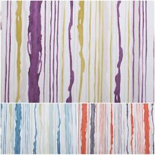 KODIE COTTON WAVY STRIPED MULTICOLORED CONTEMPORARY ARTY UPHOLSTERY FABRIC