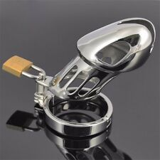 Men Stainless Steel Luxury Chastity Cage Standard Size Male Chastity Device