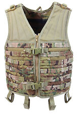 Multicam Camo Modular Military Style Tactical Vest Molle Rothco 5408