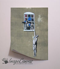 BANKSY WINDOW LOVERS GIANT WALL ART POSTER A0 A1 A2