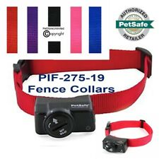 PetSafe PIF-275-19 Wireless Fence 2 DOG Collars for PIF-300 + FREE Collar Strap