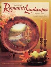Painting Romantic Landscapes by Sharon Buononato Step-by-step acrylic projects