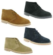 Cotswold Sahara Desert Suede Leather 2 Eye Mens Classic Boots Shoes UK3-15