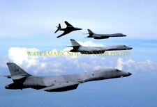 USAF B-1 Bombers Color Photo Aircraft Lancer 116th Bomb Wing Military