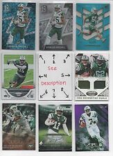 New York Jets BLOWOUT Lot #2 - Serial #'d - ROOKIES - AUTOS - JERSEYS - $ U-PICK