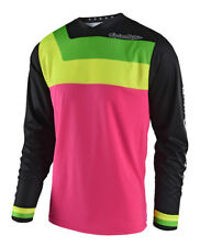 Troy Lee Designs GP Off-Road Jersey - Prisma Flo Pink/Black - All Sizes
