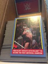 2017 Topps Heritage Thirty 30 Years of SummerSlam Singles Pick CHOICE Make Lot