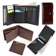 2018 YOOMALL Mens Leather Wallet Money Clip Bifold Trifold Front Pocket Wallets