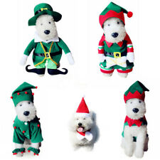 Pet Dog Cat Cute Christmas Halloween Clothes Costume Fancy Dress Cosplay Outfit