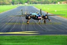 USAF B-25 Mitchell Bomber Color Photo Military  Axis Nightmare AIRCRAFT 2010