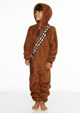 STAR WARS Chewbacca Jumpsuit Bodysuit One Piece Costume (Child)