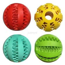 Training Dental Teething Non-toxic Rubber Roll Chew Toy Ball Pet Dog Puppy Cat