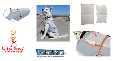 Ultra Paws Dog Outdoor Cooling Vest Gray Reflective Gear for Dogs Evaporative