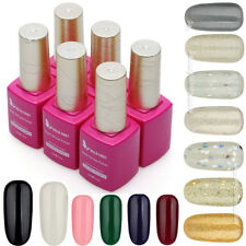 120 Color Glitter Nail Art Soak Off Polish UV Gel Decoration UV LED Lamp 15ml
