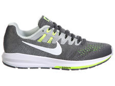 NEW WOMENS NIKE AIR ZOOM STRUCTURE 20 RUNNING SHOES TRAINERS DARK GREY / WHITE