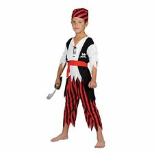 Childrens Shipwreck Pirate Fancy Dress Up Party Halloween Costume Outfit Play