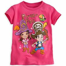 Disney Store Jake And The Never Land Pirate Izzy T Shirt Girl Size 5/6 7/8