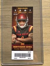 2017 Iowa State Cyclones Football Official Mint Ticket Stub - pick any game!