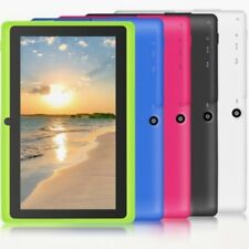 "7"" Tablet PC Android4.4 A33 8GB Quad-core 1.2GHz WIFI Dual Camera Bluetooth #A"