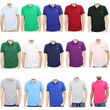 NEW MENS LACOSTE SHORT SLEEVE CLASSIC FIT COTTON PIQUE POLO SHIRT, L.12.12