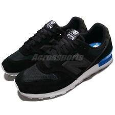 New Balance WR996SB D Wide 996 Black Blue Suede Women Running Shoes WR996SBD