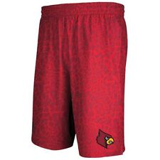 Louisville Cardinals Basketball Shorts Adidas NWT Ville New with Tags NCAA ACC