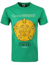 Game of Thrones Growing Strong Tyrell Men's Green GoT T-shirt