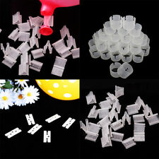 Wholesale 100Pcs Balloons Sealing Clip Clamp Buckle Stick Button Party Accessory