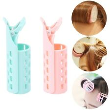 Lady Girl DIY Styling Fringe Bangs Front Curler Roller Holder Hair Pin Clip Tool
