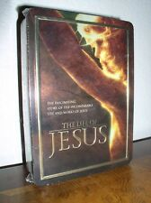 The Life of Jesus (DVD, 2005, 5-Disc Set, Collectors Edition Tin ,NEW)