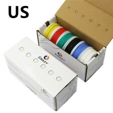 28/26/24/22/20/18awg 6 colors Flexible Silicone Rubber Wire Tinned Copper