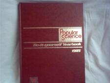 Do-It-Yourself Yearbook 1985 Popular Science Book FREE SHIP