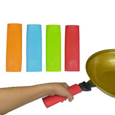 Silicone Pot Pan Handle Holder Sleeve Cover Grip Hot Sleeve Kitchen Utensil New