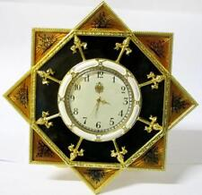 NEW Franklin Mint House of Faberge The Polar Star Yacht Clock