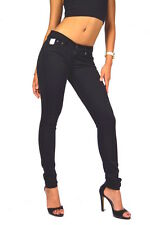 NEW! PEPE JEANS PIXIE T41 Black Sexy Behind Skinny Fit Jeggings NEW - L30 L32