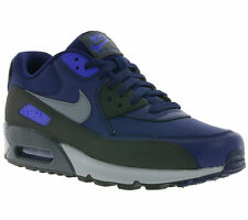 NEW NIKE AIR MAX 90 ESSENTIAL SHOES TRAINERS Blue 537384 418 SALE
