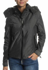 Superdry Ladies' Jacket Arctic Hooded Cliff Hiker Khaki Marl Black