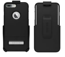 Seidio Surface Combo Case Cover&Holster for Apple iPhone 7 and 7 Plus Black