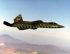 USAF YF-23 Color Photo Military YF 23 BLACK WIDOW II Gray GHOST Color vet