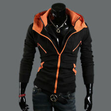 New Men's Casual Fashion Slim Fit Sexy Tops Designed Hoodies Jackets Coats M-XXL